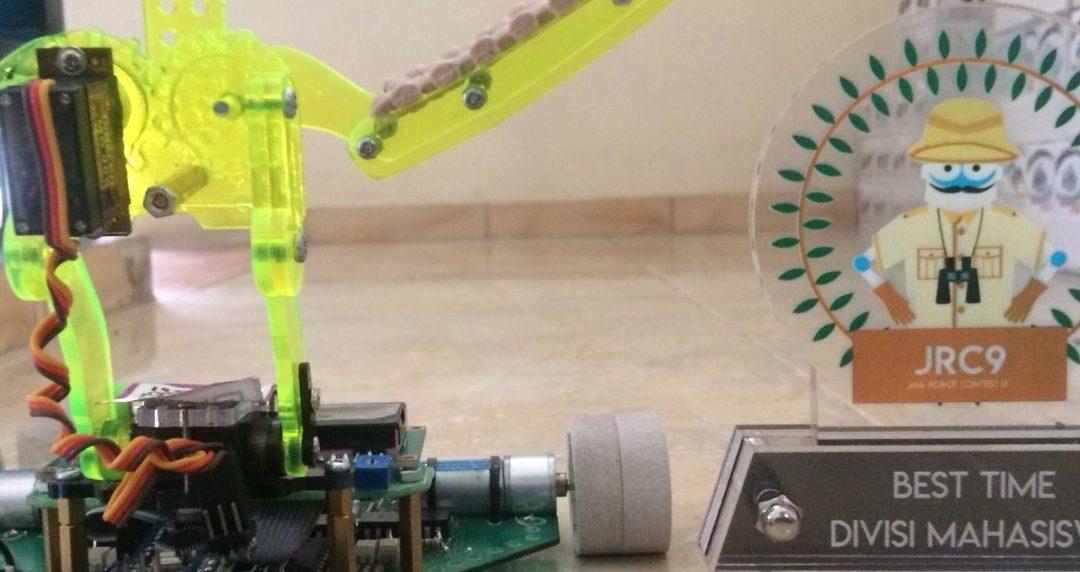 Robot Karya Mahasiswa UISI Raih Kategori Best Time