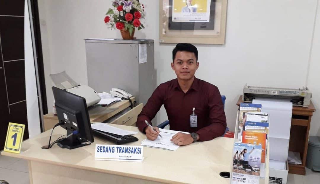 Muhammad Febrianto, Mahasiswa Manajemen Rekayasa Jalani Magang Bersertifikat di BTN