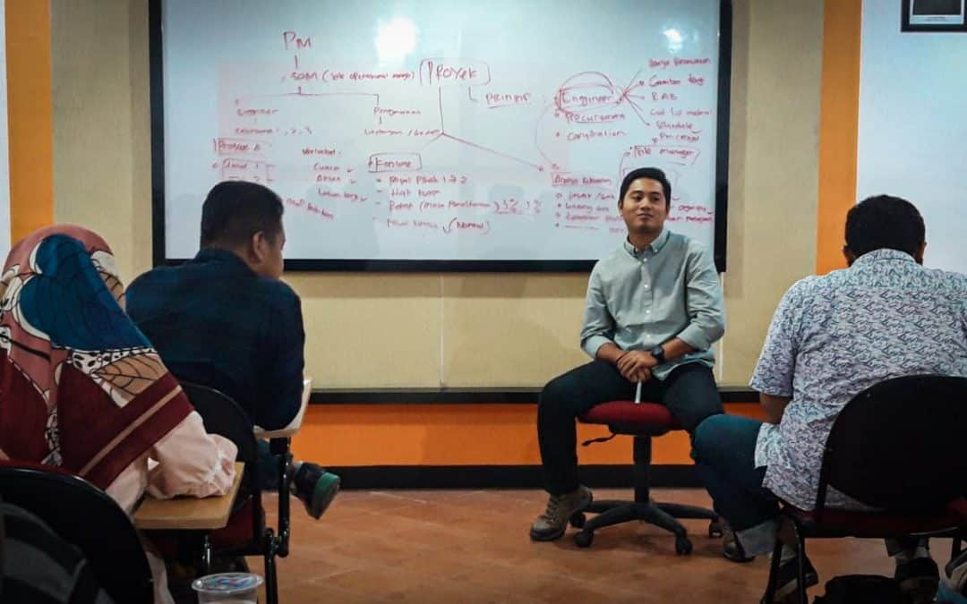 Belajar Bersama Alumni, Sigit Hadi Alumni MR Ajarkan Tentang Proyek Konstruksi dari Pengalamannya