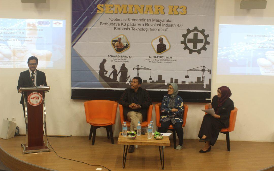 Peduli Keselamatan Kerja, Manajemen Rekyasa Gelar Seminar sebagai Perayaan Bulan K3