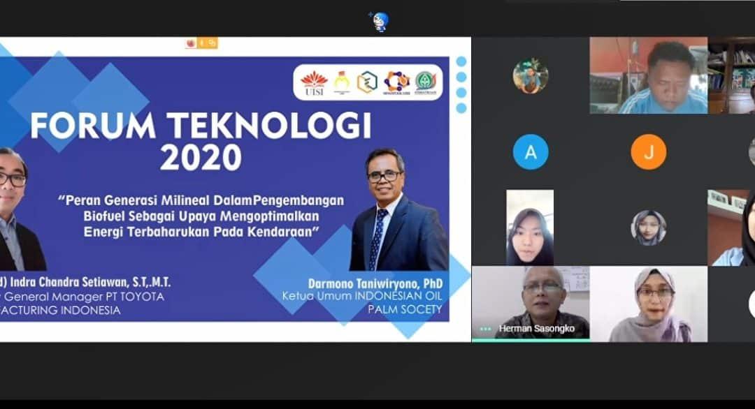 Forum Teknologi, Acara Kolaborasi Fakultas Teknologi Industri dan Agroindustri di Bidang Energi Terbaharukan